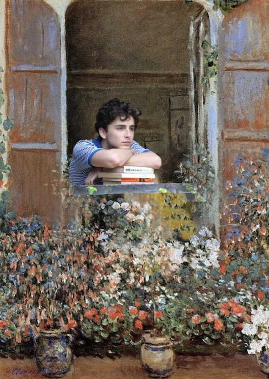This Instagram matches scenes from 'Call Me by Your Name' with Monet paintings