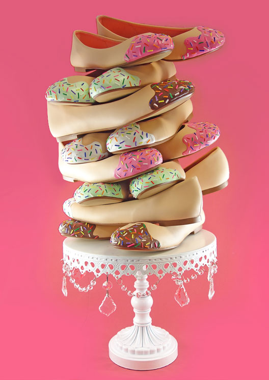 Cue your latest online obsession: shoes designed as cakes
