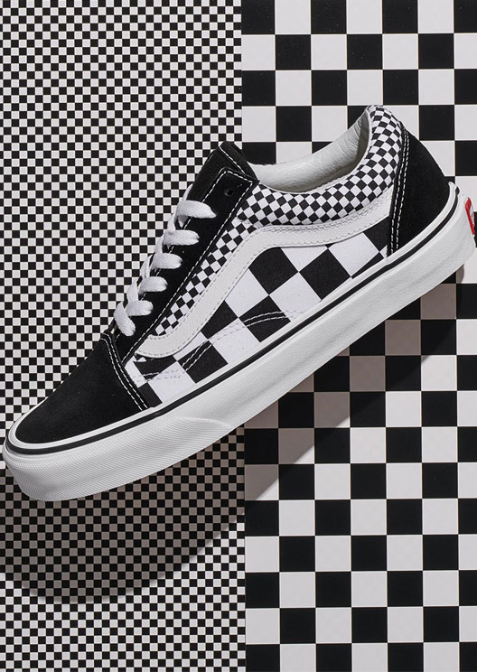 Vans revamps its iconic checkerboard print