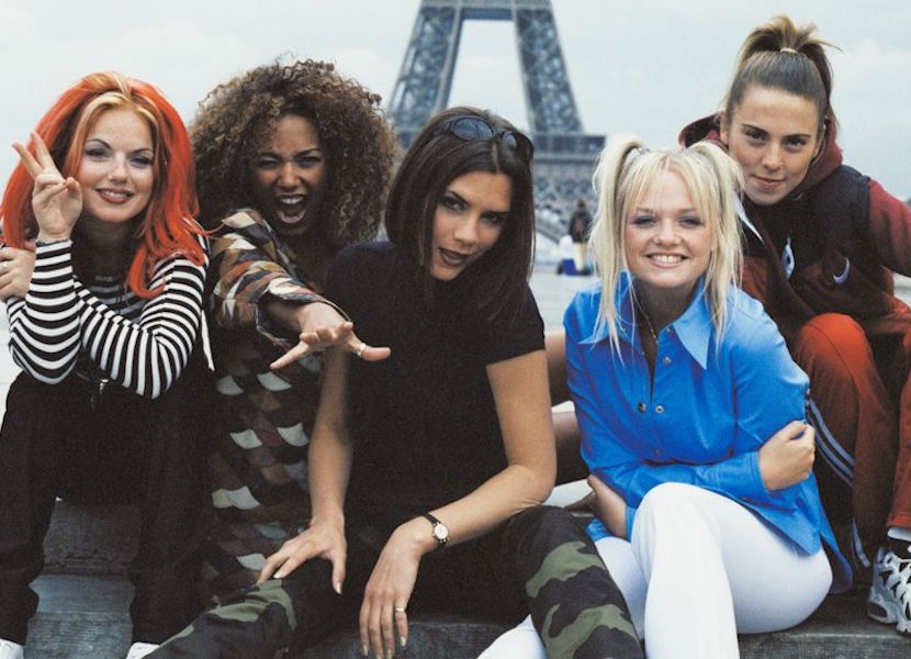 Spice Girls Eiffel Tower
