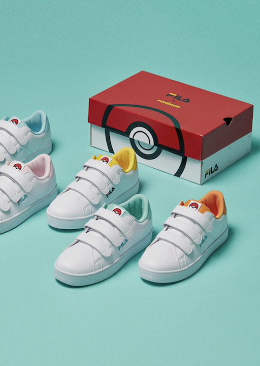 Fila releases its second Pokémon collection