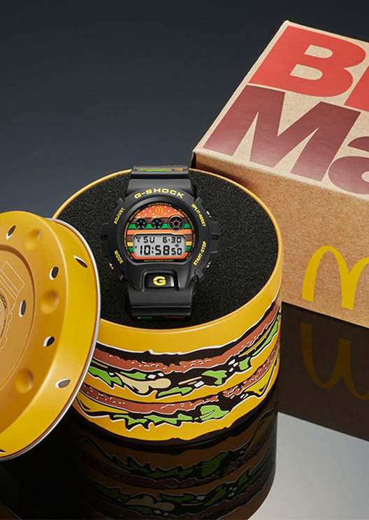 McDonald's and G-Shock unveil a surprising collaboration