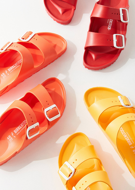 Birkenstock releases sandals in every colour of the rainbow