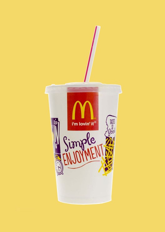 McDonald's is phasing out plastic straws