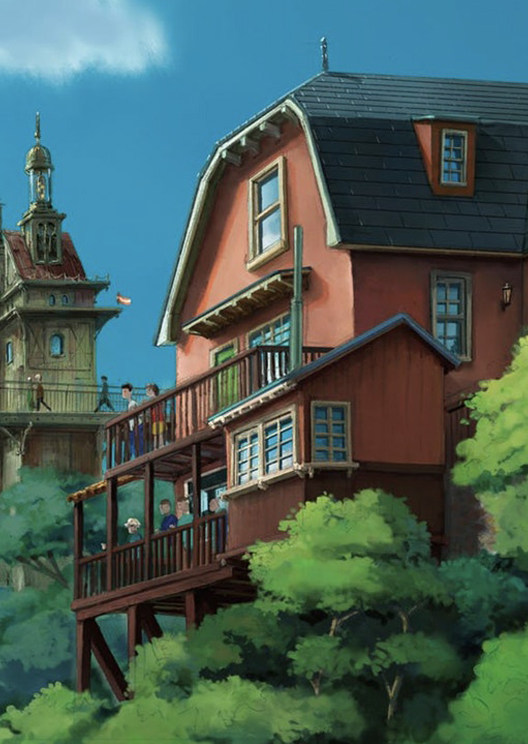 Here are the first images of the Studio Ghibli theme park