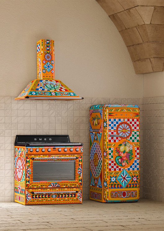 Smeg and Dolce & Gabbana are back with another kitchen release