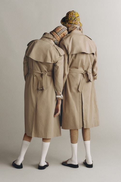 Burberry has reimagined its signature trench