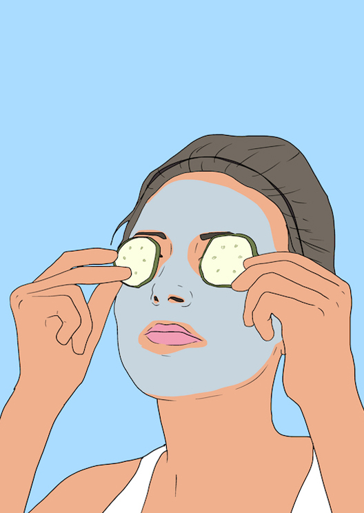 A broke girl's guide to the at-home facial