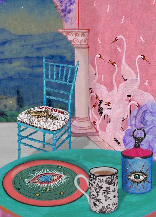 Gucci's insanely-priced home décor collection is finally available