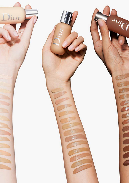 Dior launches a new foundation with 40 shades