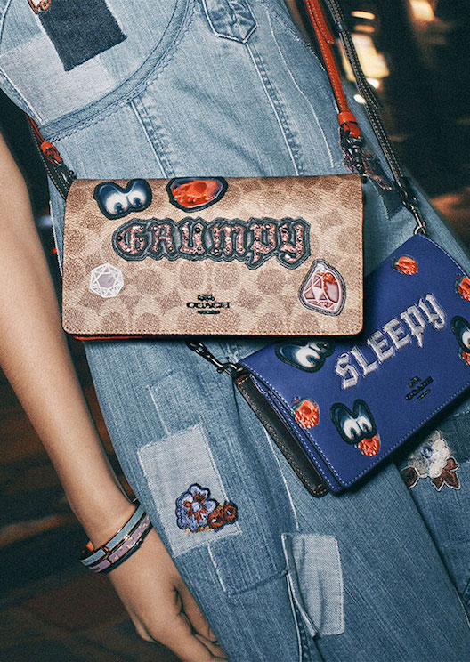 Coach and Disney team up again for a collection inspired by dark fairytales