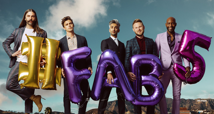 Queer Eye's Fab Five are coming to Aus to celebrate season 2