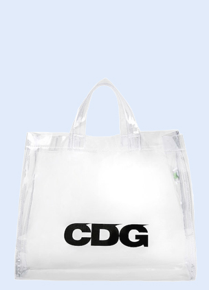 Comme des Garçon's new PVC tote is the bag you didn't know you needed