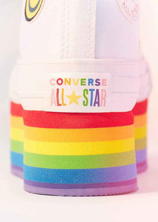 Converse and Miley Cyrus drop a Pride month collection