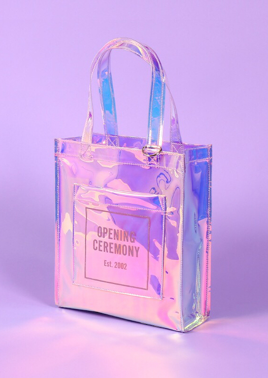 Opening Ceremony's Mirror totes are for the magpies among us