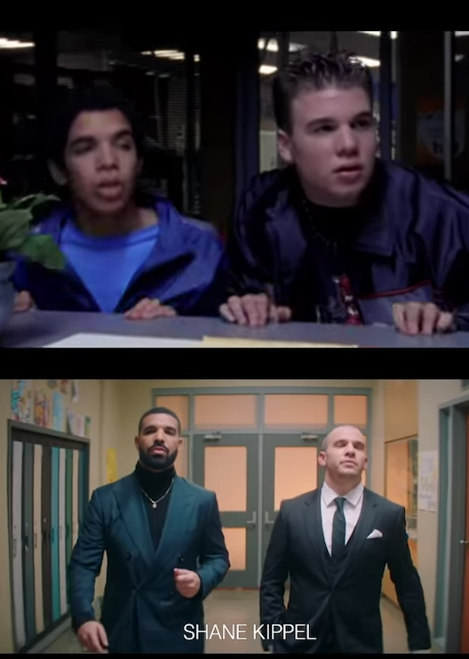 Drake's new music video reunites the whole Degrassi cast