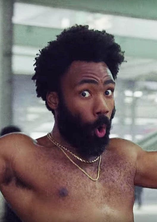 Childish Gambino has been accused of ripping off another rapper in 'This Is America'