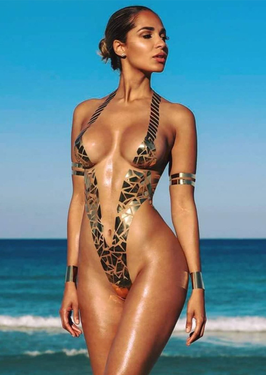 Duct tape is being worn as swimwear and fashion keeps getting weirder
