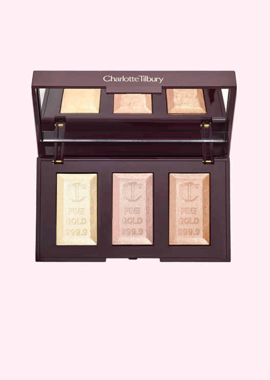 Beauty report: Charlotte Tilbury Bar of Gold Highlighter Palette