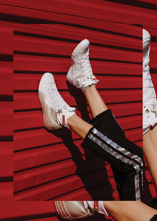 sass & bide teams up with Converse to reinvent the All Star