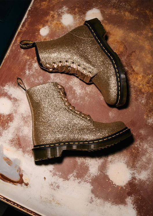 Dr. Martens' Pascal boot receives a glitter update
