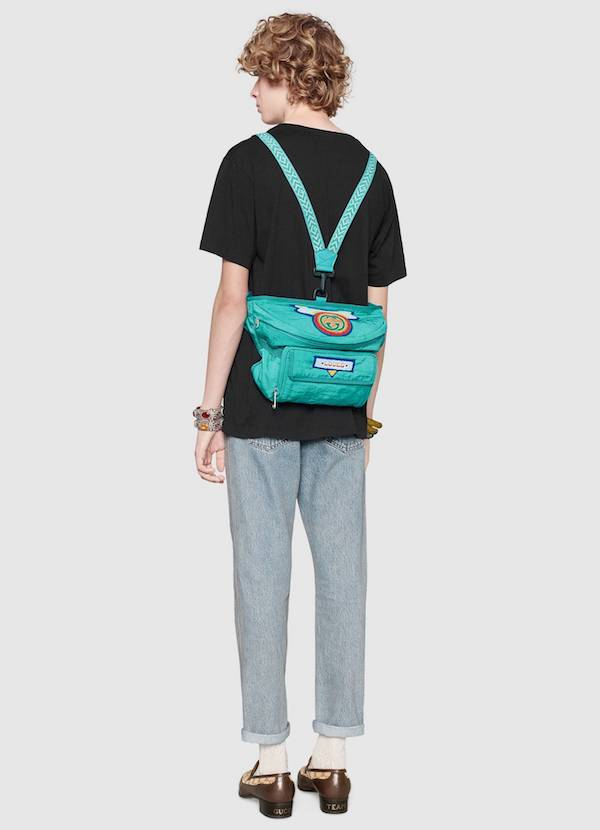 Gucci delivers the bumbag-backpack hybrid you didn't know you needed