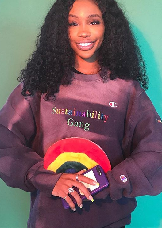 SZA is releasing a sustainable clothing line