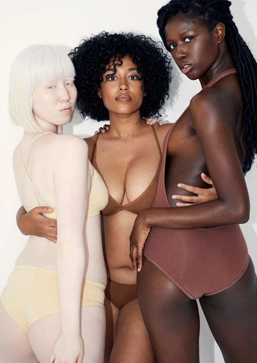 American Apparel releases underwear in 9 different shades of nude