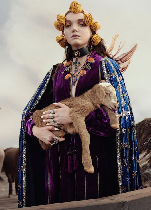 Gucci takes things to a biblical level with Noah's Ark-inspired campaign