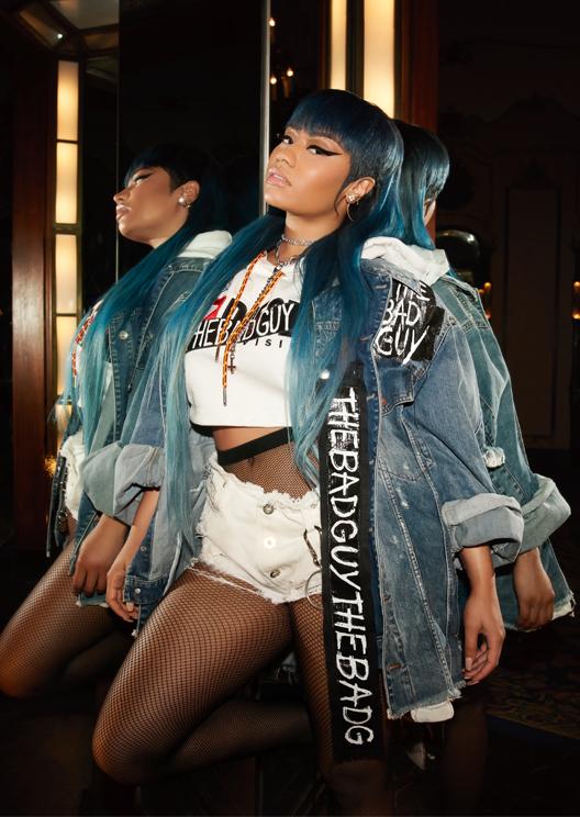 Diesel's new campaign taps Nicki Minaj and reclaims hate speech