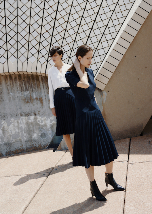 Dion Lee designs new uniforms for Sydney Opera House staff
