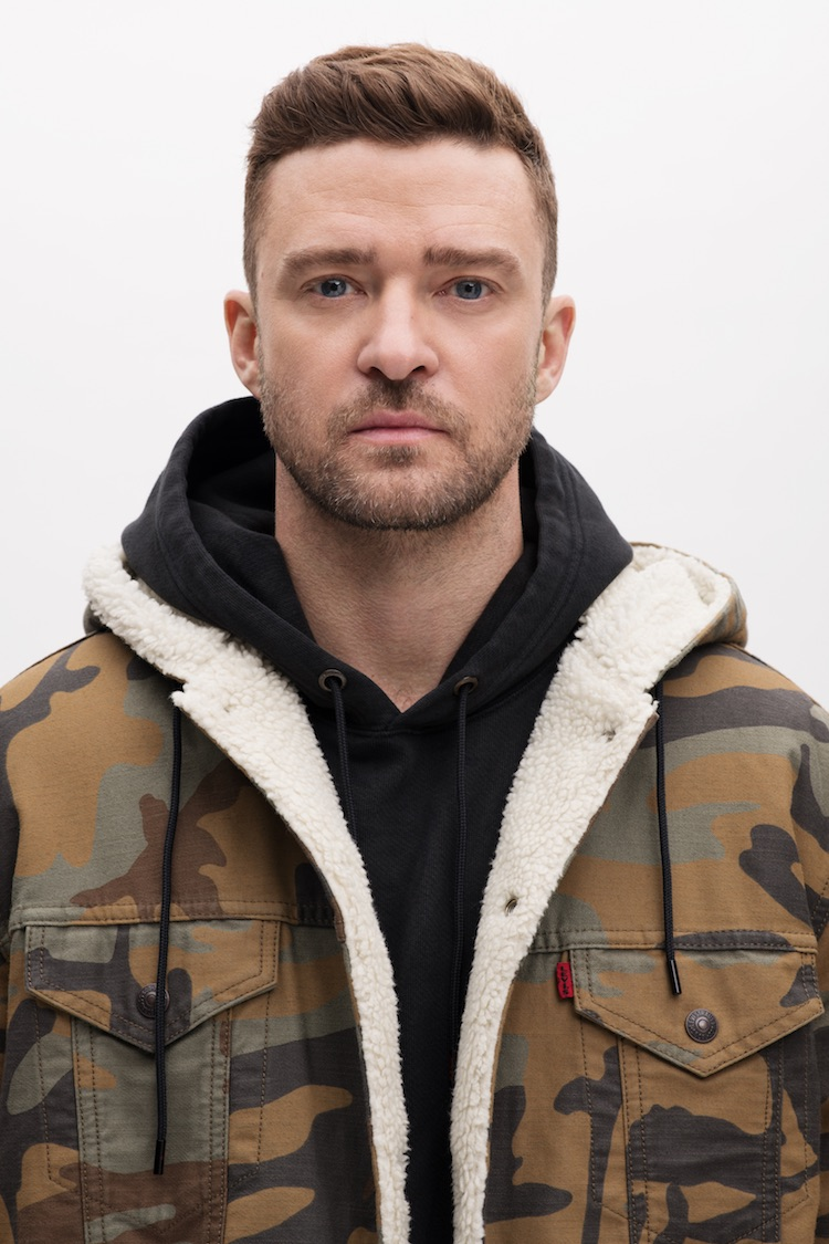 Justin Timberlake designed a collection for Levi's