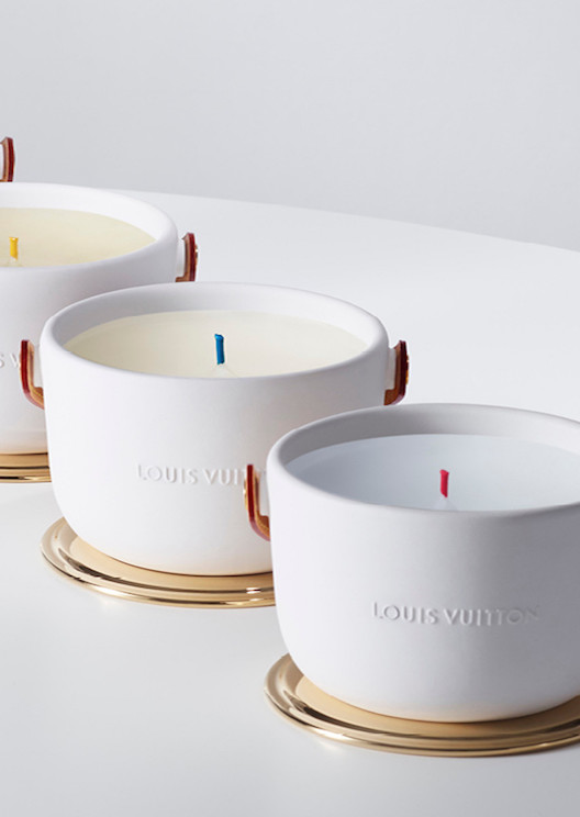 Louis Vuitton is dropping a line of very luxe, scented candles