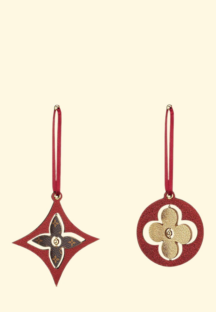 Louis Vuitton ornaments are here to class up your Christmas tree