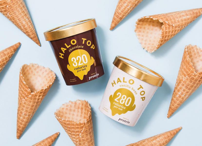 WIN: A three-month supply of Halo Top ice cream