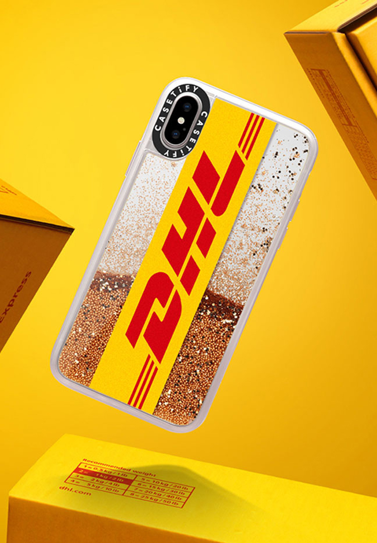 Forget T-shirts, you can now get DHL phone cases