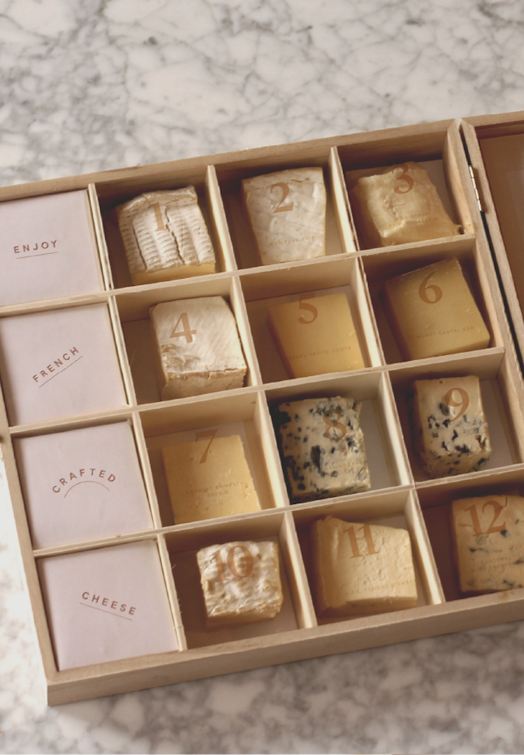 Brie lovers rejoice: A cheese advent calendar can now be delivered to your doorstep