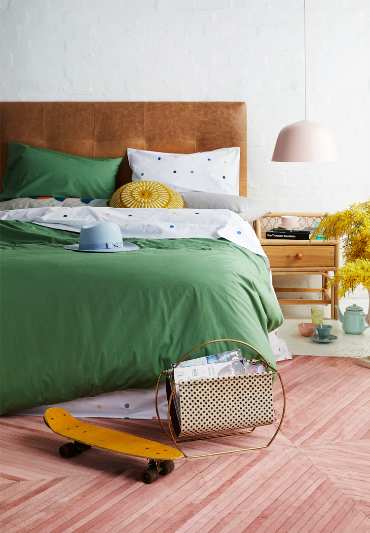 More Than Ever creates bedding that's designed to be mixed and matched