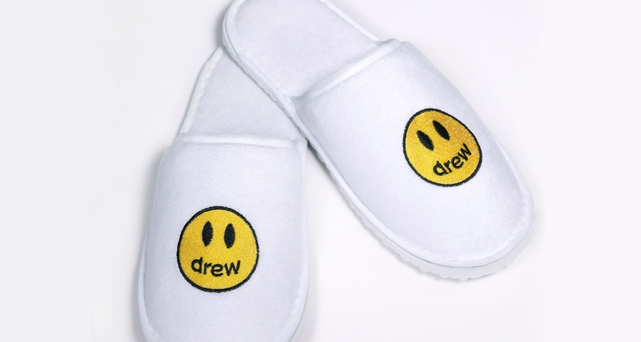 Justin Bieber's brand launches its first product: 'cheap hotel slippers'