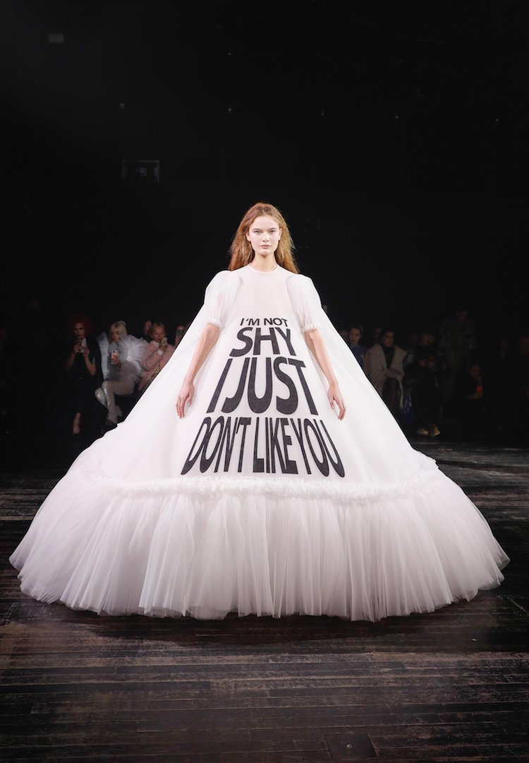 Viktor & Rolf Spring 2019: Why most people have missed the point entirely