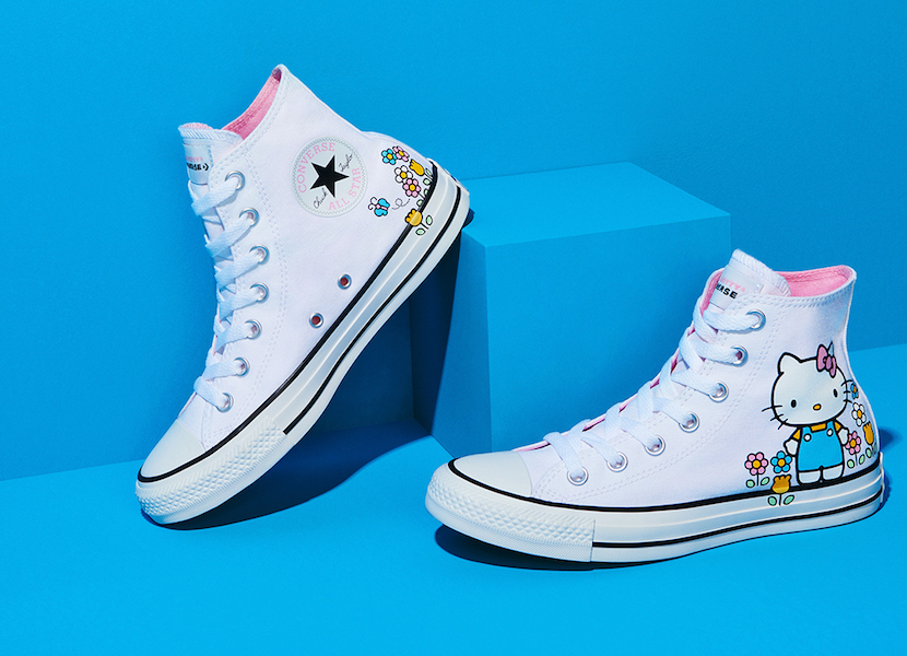 Hello Kitty Collaborates with Converse for the Cutest Shoes Ever