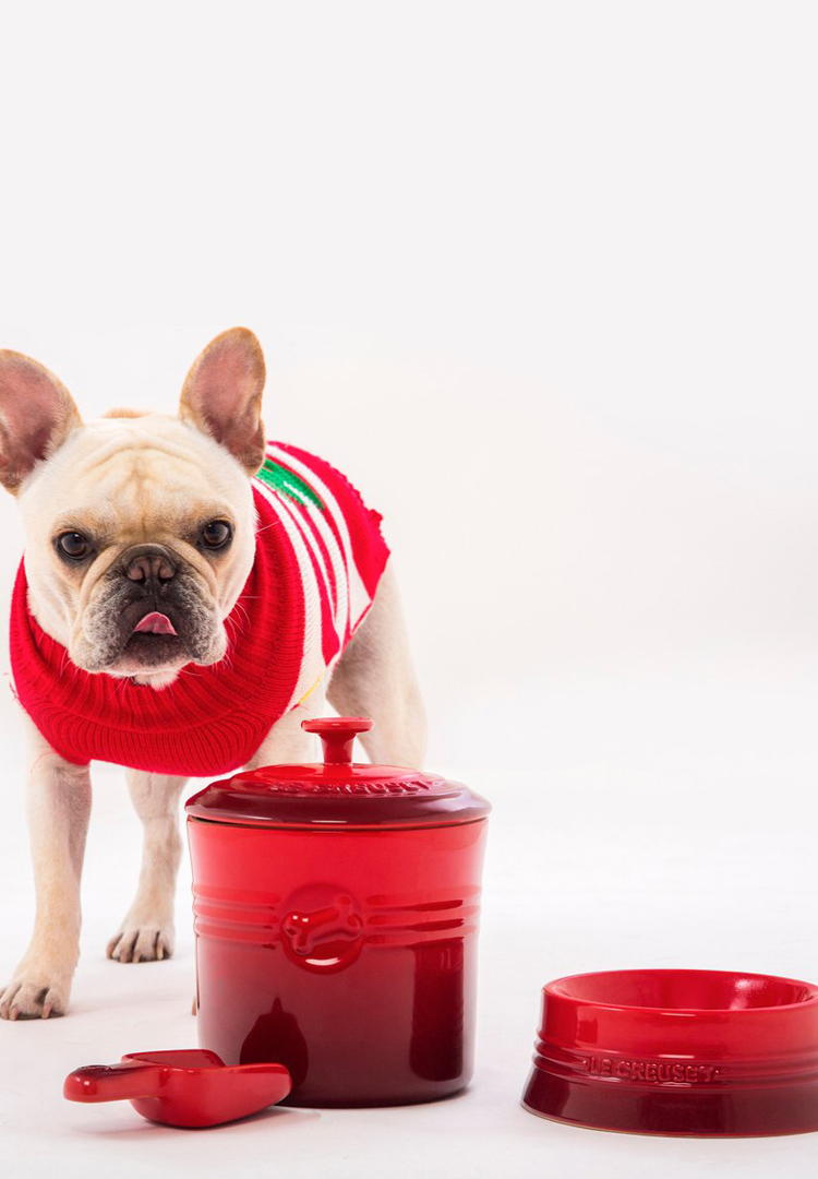 Le Creuset is now making pet bowls and RIP your wallet