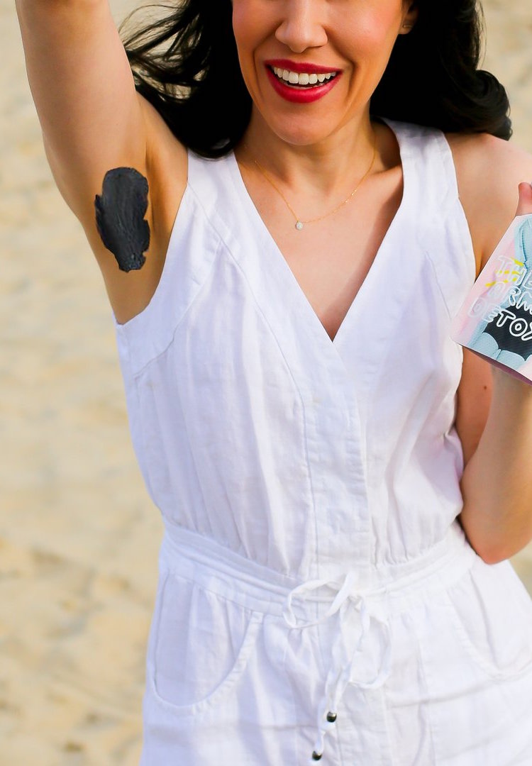 Armpit masks are now a thing in case you're tired of pampering your face