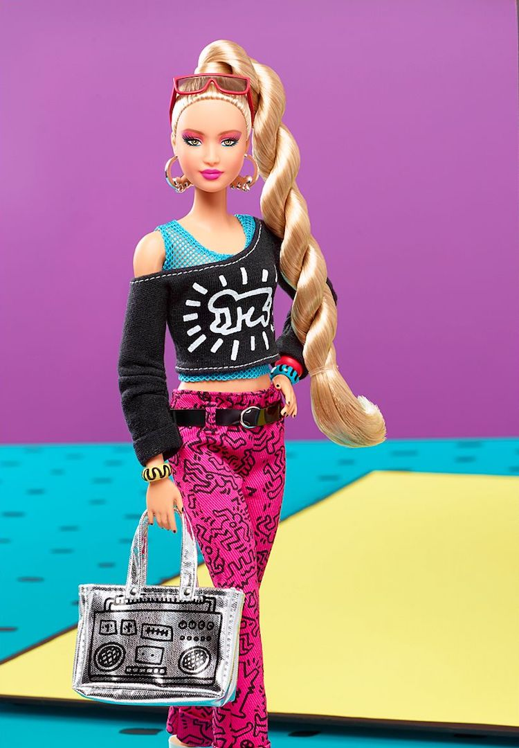 Barbie x Keith Haring is the doll you didn't know you needed