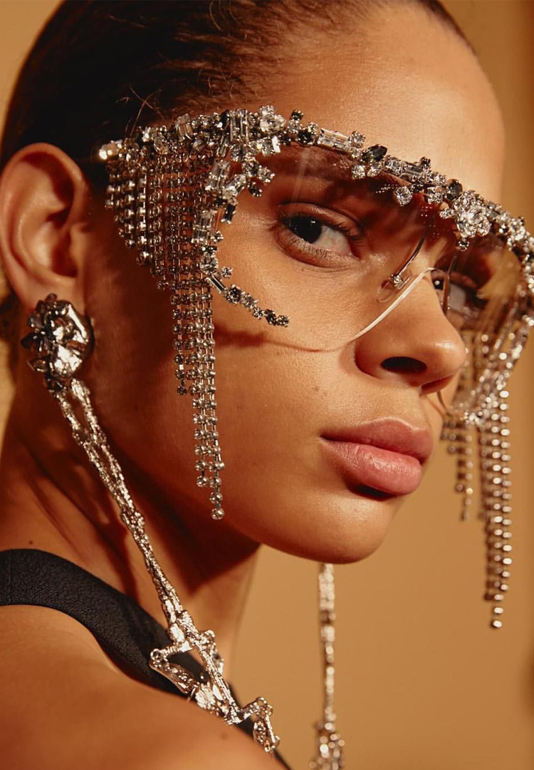 Givenchy drops Swarovski-covered sunglasses for people who rely on attention to live