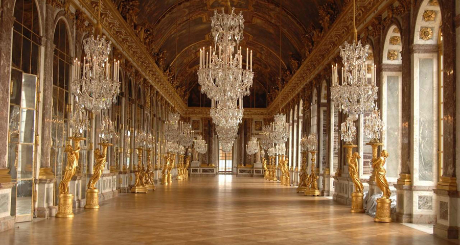 The Palace of Versailles is hosting a rave in the Hall of Mirrors