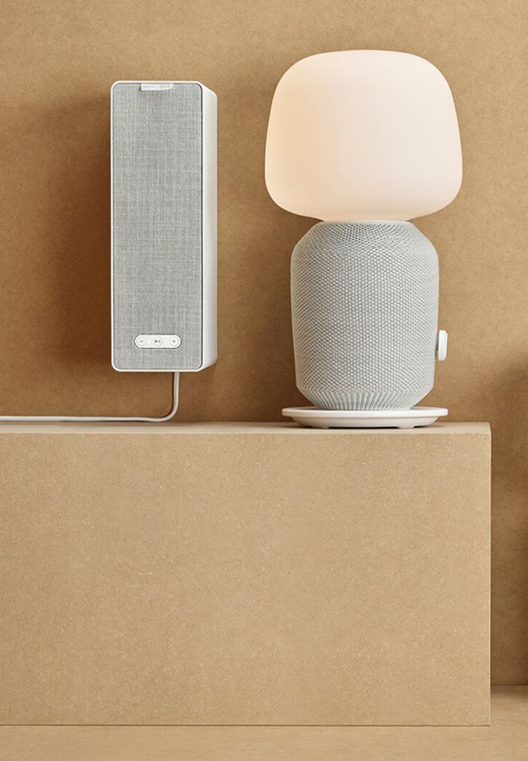 IKEA and Sonos have created a lamp that doubles as a wireless speaker