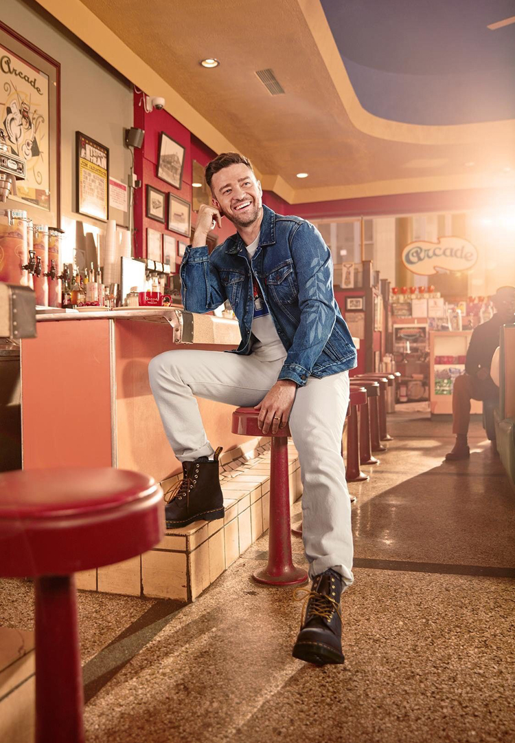 Justin Timberlake teams up with Levi's for a second release
