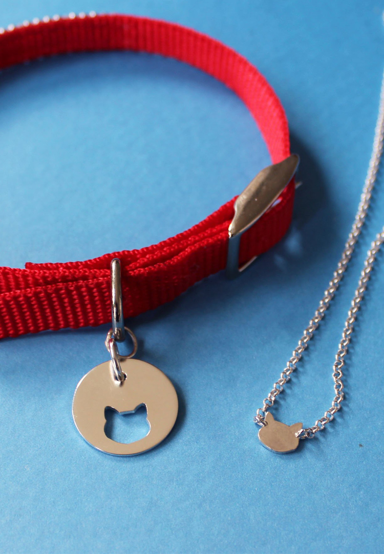 Someone finally made non-ugly pet friendship necklaces because your furbaby's love is forever