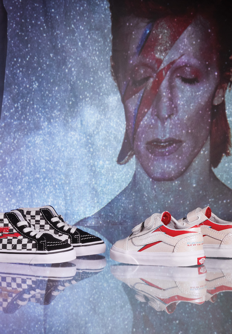 Vans honours the legacy of David Bowie with an out-of-this-world collection